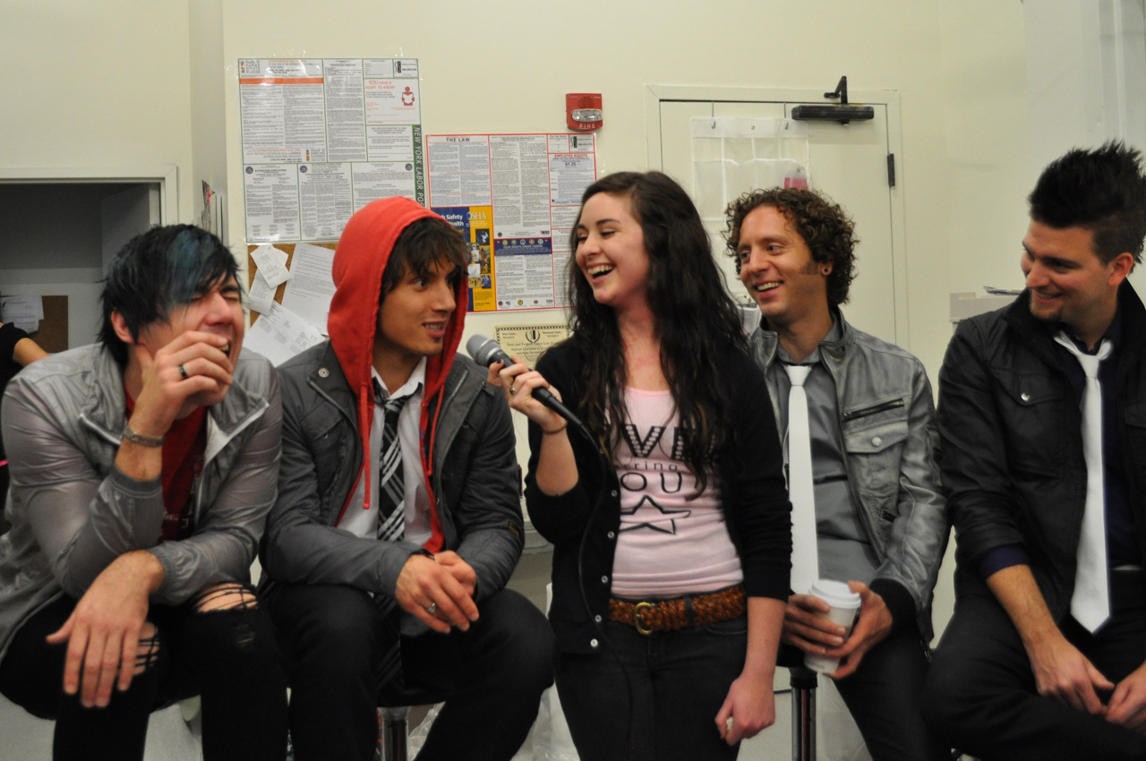 In the trenches with Marianas Trench – Live! Starring     You!