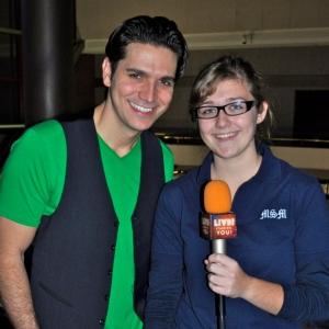 Broadway actor Derek Keeling talks staying fit with LSY! teen reporter Maddie Eberhardt.