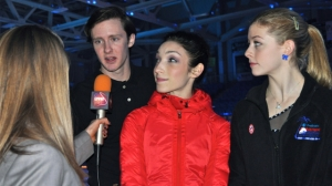 U.S. figure skating champion Jeremy Abbott, with fellow skaters Meryl Davis and Gracie Gold, faced bullying for following his passions as a kid.