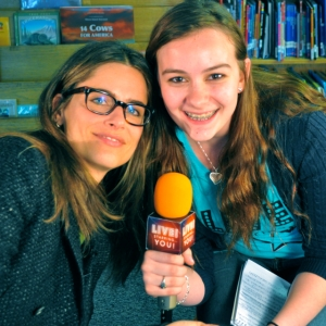 Amanda Peet sat with LSY! teen reporter Bryanna Gwitt to talk about life as a Hollywood star and the opportunity to give back.(Photo by Tim O'Shei)