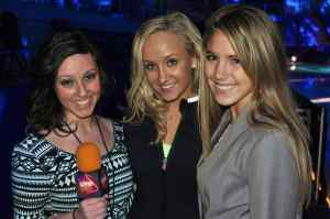 Olympic gymnastics champion Nastia Liukin, center, told LSY! that her mom told her never to quit after having a bad day. If you're going to quit, Nastia's mom said, you need to do it after a good day.