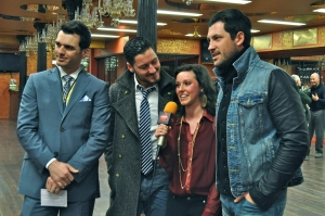 LSY! editor Francesca Harvey interviewed Dancing with the Stars performers Tony Dovolani, Val Chmerkovskiy and Maks Chmerkovskiy in their Manhattan studio, Dance With Me.(Photo by Bryanna Gwitt)