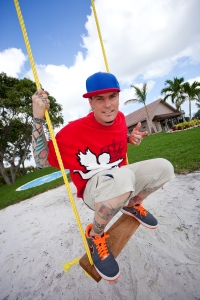 "Rapper Vanilla Ice talked to Live! Starring ... You! about balancing both of his creative passions — music and home renovations. He does the latter in his transforms homes in his DIY Network show ""The Vanilla Ice Project.""(Photo courtesy of DIY Network)"