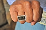 Only 13 people in the world can wear this ring – the members of the MuzikMafia. (Photo by Tim O'Shei)