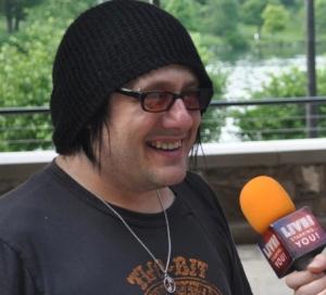 Robby Takac of the Goo Goo Dolls