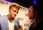 Cody Simpson tells fans to stay humble when your fame starts rising. (Photo by Meghan Robert at the Gig-It launch in NYC)