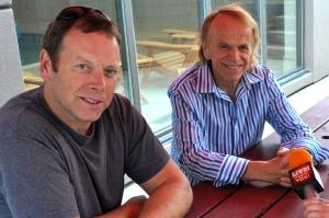 Matt Jardine's dad Al is an original member of the Beach Boys. (Photo by Tim O'Shei.)