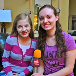 Teen singing sensation Jackie Evancho told LSY's Lauren Kirchmyer that her family keeps her grounded. (Photo by Tim O'Shei)