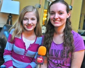 "Jackie Evancho told Lauren Kirchmyer that proving her bullies wrong is ""a major motivation."" (Photo by Tim O'Shei)"