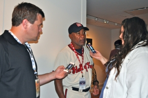 Ozzie Smith says the ability to compartmentalize is key to success. (Photo by Bryanna Gwitt)