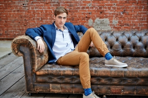 Kendall Schmidt's official Nickelodeon photo from the Big Time Rush TV show. (Photo by Sam Jones/ courtesy of Nickelodeon)