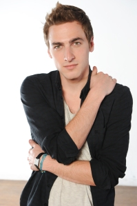 Big Time Rush lead singer Kendall Schmidt is looking forward to working with his other band, Heffron Drive, this fall. (Photo by Micah Smith)