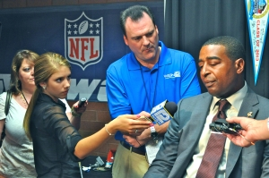 Cris Carter, a 2013 inductee, says humility takes on a different meaning in sports.