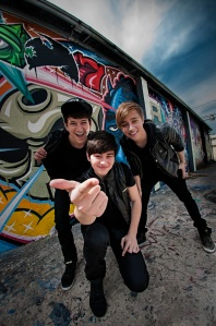 Before You Exit is brothers Riley, Toby, and Connor McDonough.