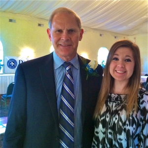 Michigan State basketball coach John Beilein spoke with LSY! teen reporter Rebecca Wojcinski at an awards dinner for DeSales school in Lockport, New York. Both of them are DeSales alums.