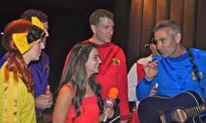 Emma Smith with The Wiggles at UB Center for the Arts