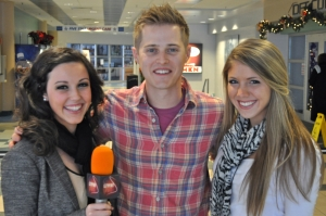 Lucas Grabeel with Francesca Harvey & Hailey Rose Gattuso