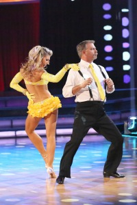 Bill Engvall's professional dance partner on Dancing with the Stars was Emma Slater. (Photo courtesy of ABC/Adam Taylor)