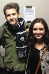 Nick Santino with LSY! reporter Karissa Clancy.