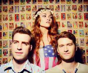 The members of MisterWives are from New York City. (Photo by Shervin Lanez)