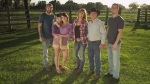 Julie and Rusty Bulloch with their immediate family. (Photo courtesy of UPTV)