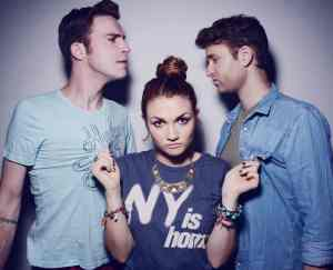 "Mandy attended the ""Fame"" school in New York City. (The members of MisterWives are from New York City. (Photo by Shervin Lanez)"