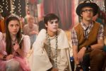 "Keean Johnson, center, plays Adam on Hub Network's ""Spooksville."" His co-stars are Katie Douglas and Nick Purcha. (Photo courtesy of The Hub Network.)"