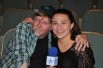 Britini D'Angelo's first-ever LSY interview was a big one: She chatted with Glee pianist Brad Ellis. (Photo by Tim O'Shei)