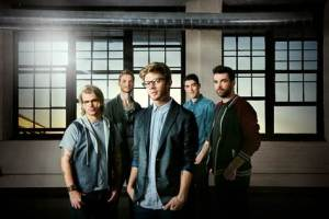 Sam Miller, center, is the lead singer of Paradise Fears.