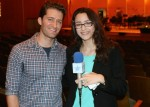 Glee star Matthew Morrison, who was recently married, met with LSY reporter Rebekah Dunn.