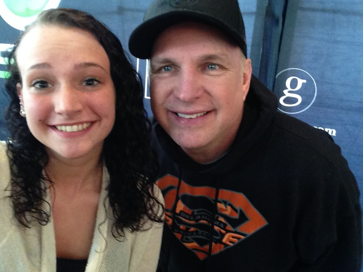 Photo of Garth Brooks & his  Daughter  Allie Colleen Brooks
