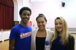 "DeMarius Copes of the ""Newsies"" touring cast talked to El'excia Allen and Camryn Clune about the Get Up & Go program."